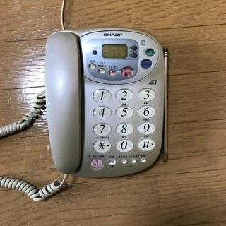 固定電話 シャープ