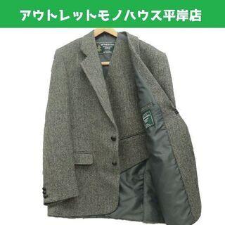 使用感少なめ★ハリスツイード テーラード スーツ ジャケッ…
