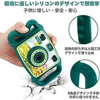 新品 DROGRACE キッズカメラ 2.0インチ 4倍ズ…