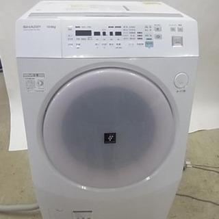 シャープ ドラム洗濯機 0円【受付終了】