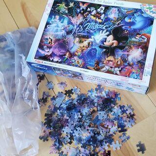 ディズニーのジグソーパズル