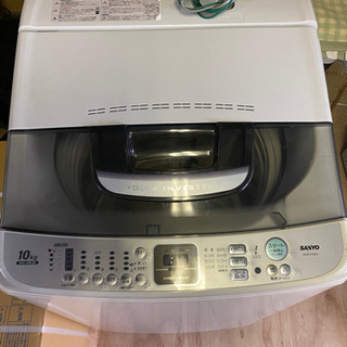 サンヨー 10kg 全自動洗濯機