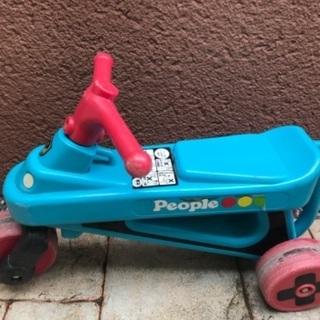 三輪車 子供用足漕ぎバイク Peopleピープル