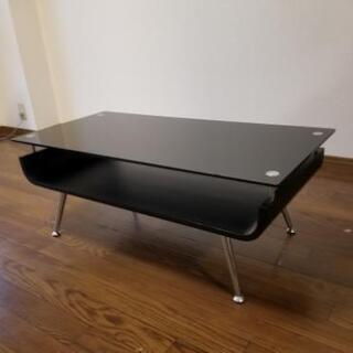 ローテーブル  ガラステーブル - 彦根市