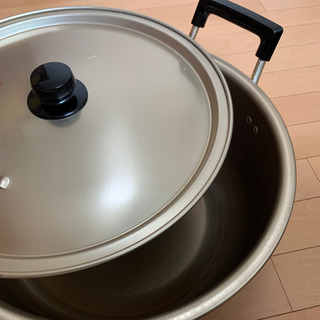 【ネット決済・配送可】純しゅう酸鍋 37cm