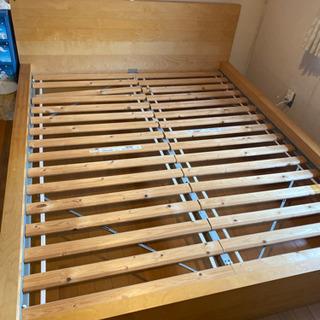 IKEA ベッドフレーム クウィーンサイズ