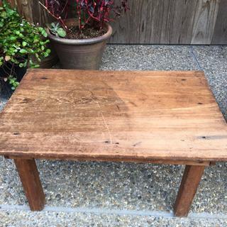小さなテーブル 59✖️39 高さ30