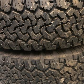 265/70R17スパイクタイヤバリ溝ホイール付き❣️プラド ハイラックスサーフ等に - 車のパーツ