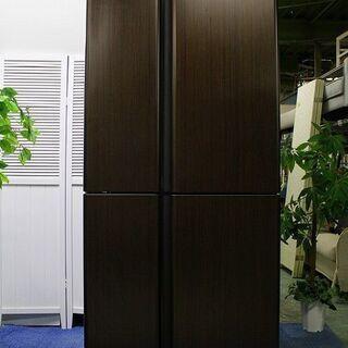 R2018) AQUA 4ドア冷凍冷蔵庫 自動製氷 ガラストップ...