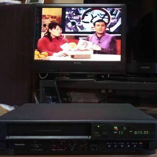 パナソニック VHSビデオデッキ NV-G55