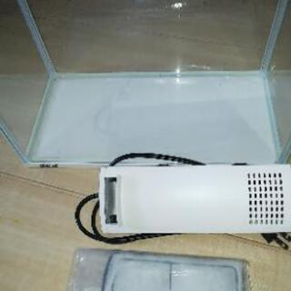 【未使用品】GEXアクリス水槽ポンプ付きの画像
