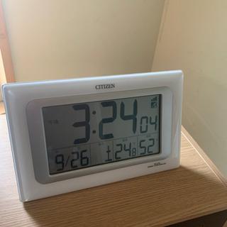 CITIZEN 電波デジタル時計