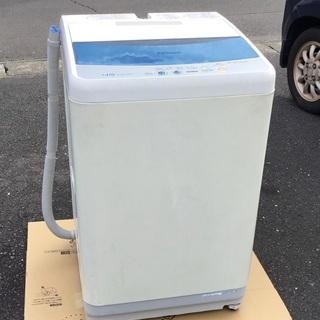<動作品>パナソニック・全自動洗濯機(送風乾燥機能付き)4.5k...
