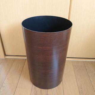 木目調ごみ箱