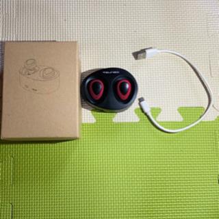 TWS-K2(Bluetoothワイヤレスイヤホン 黒) [動作...
