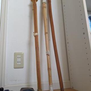 竹刀とケースと木刀