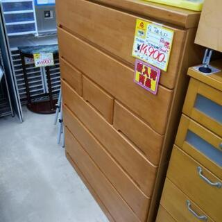 【値下げ】6段チェスト 箪笥 タンス 106×45×139cm 0926-05 - 糸島市