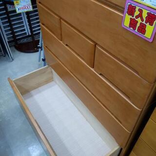 【値下げ】6段チェスト 箪笥 タンス 106×45×139cm 0926-05 - 家具