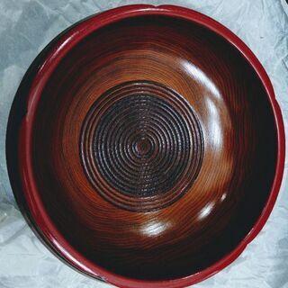 山中漆器 八寸梅型鉢(新品)