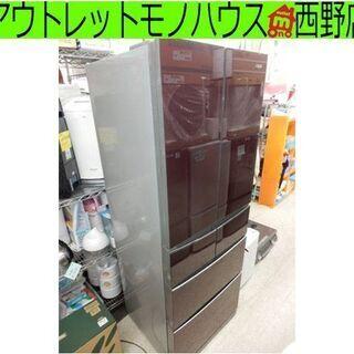 冷蔵庫 400L 6ドア 2014年製 フレンチドア 自動製氷機...