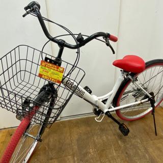 折り畳み自転車★26インチ・超美品★防犯登録料込 - 春日井市