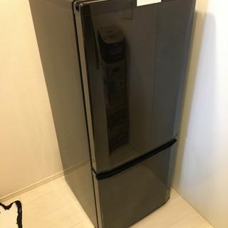 ①※値下げしました!三菱 冷蔵庫 146L 2ドア 右開き 3年...