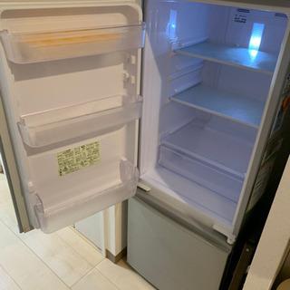 【美品】SHARP 冷蔵庫  扉両開き