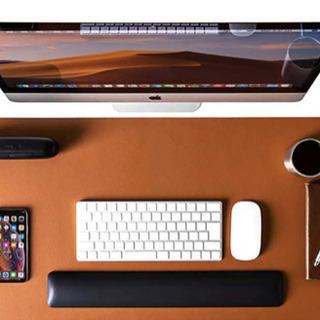【新品】テーブルマット (ライトブラウン)大型マウスパッド、環境...