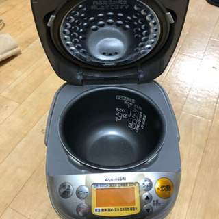 象印炊飯器(3合炊き)と掃除機セット