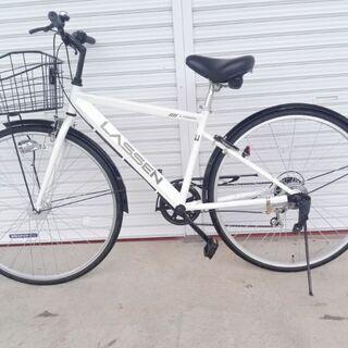 買い物自転車 ラッセン 未使用品 27インチ オートライト/スチ...