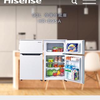 Hisense 93L 直冷式冷蔵庫