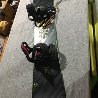 スノーボード板&ビンディング 146cm 状態綺麗