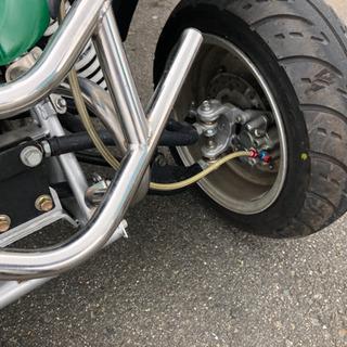 『高すぎました!値下げします』台湾製バギー、ミニカー登録、牽引車付き(ジャイロ) - バイク