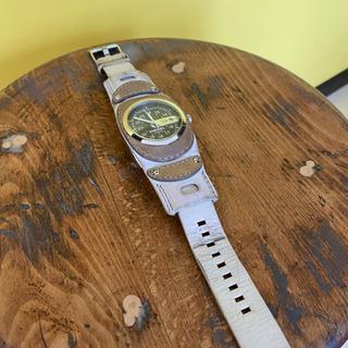 【DIESEL】革 腕時計