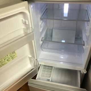 SHARP冷蔵庫2018年製、東芝洗濯機2017年製