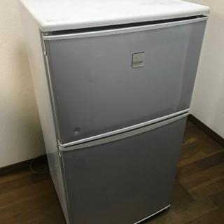 冷蔵庫 DAEWOO 2ドア 冷凍冷蔵庫 82L (冷凍室 30...