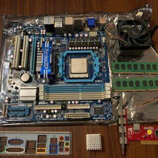 AMD CPU Phenom II X6 + マザーボード + ...