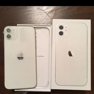 iPhone 11 SIMフリー 新品 256GB ホワイト ア...