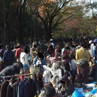 都立公園フリマ再開します●10/25(日)小金井公園フリーマーケ...