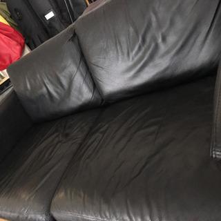 無印良品 皮製 ソファ 廃盤