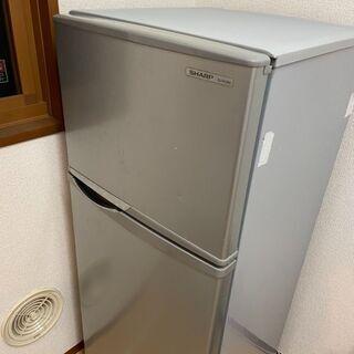 直接取引歓迎 SHARP/2ドア冷蔵庫118L/SJ-H12W-...