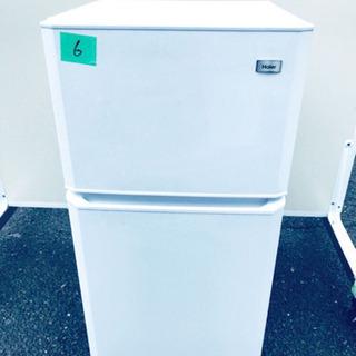 6番 Haier✨冷凍冷蔵庫✨JR-N106H‼️