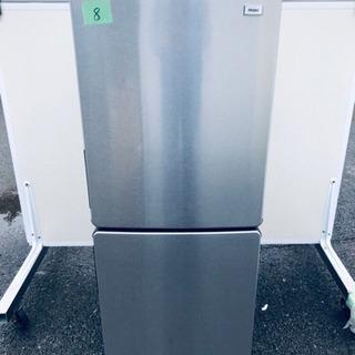 ✨高年式✨8番 haier✨冷凍冷蔵庫✨JR-XP2NF148F‼️