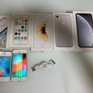 値下げ‼️ iPhone 4s 5s 本体 空箱