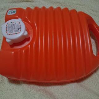 プラスチック製の湯タンポ