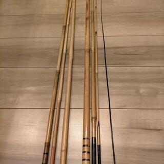竹竿の画像