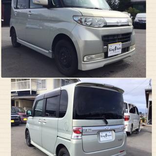 ★タントカスタムX 4WD  H20年式★