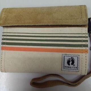 ハンテン 折財布 未使用