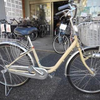 中古自転車1159 前後タイヤ新品!ブリヂストン カルーサ CU...