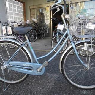中古自転車1160 前後タイヤ新品! 26インチ 3段ギヤ ダイ...